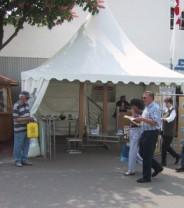 Unsere Produkte aus Metall und Edelstahlauf dem Mannheimer Maimarkt 2009