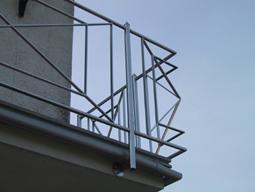 Geländer aus Edelstahl für Balkon