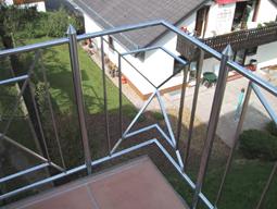 Geländer aus Metall  für Balkon