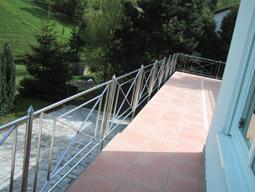 ausgekreuzte gel nder f r balkons heidelberg. Black Bedroom Furniture Sets. Home Design Ideas