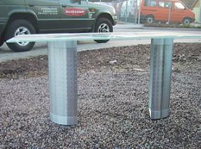 Tischplatten mit Glasplatte anfertigen