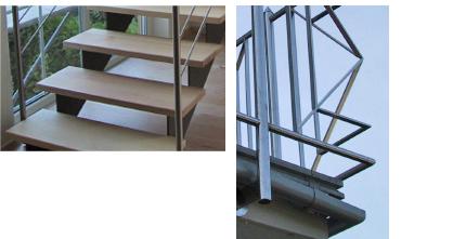Treppen und Geländer aus Metall in Heidelberg